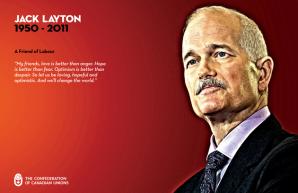CCU Remembers Jack Layton