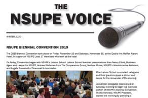 NSUPE Voice – Winter 2020